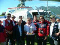 Η Ελληνική Ομάδα Διάσωσης Τρικάλων αποχαιρετά τον Αθανάσιο Σωτηράκη που έφυγε από κορονοϊό